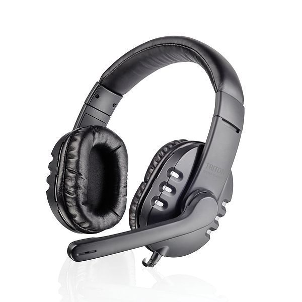 Speed-Link Triton Stereo Headset, black-silver