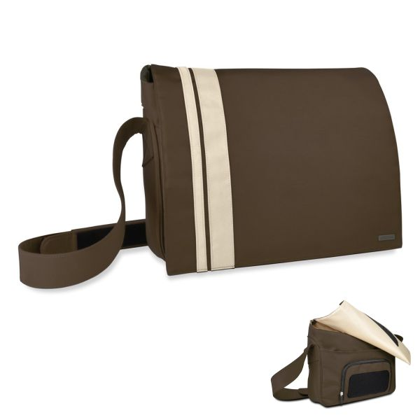 Speedlink Courier Messenger Bag 16,4'' / 41,6 cm, brown-biege
