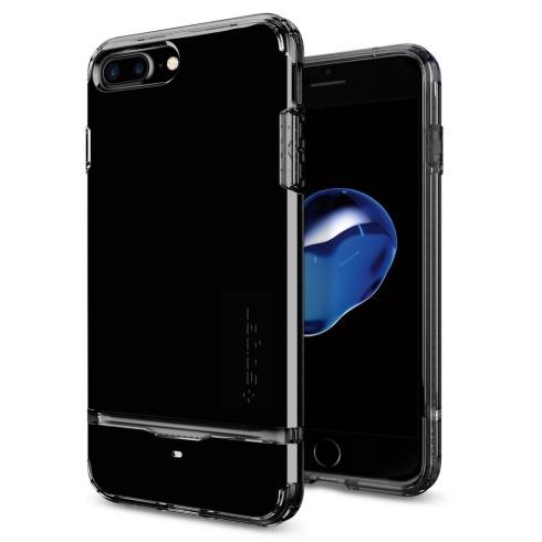 Spigen kryt Flip Armor pre iPhone 7 Plus - Jet Black 043CS20853