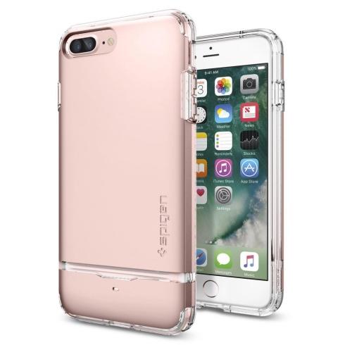 Púzdro SPIGEN Flip Armor iPhone 7 Plus/8 Plus Rose zlaté