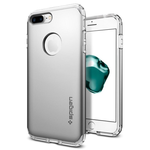Púzdro Spigen Hybrid Armor iPhone 7 plus strieborné