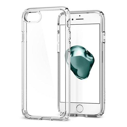 Púzdro Spigen Ultra Hybrid 2 iPhone 7/8/SE 2020 - Crystal Clear