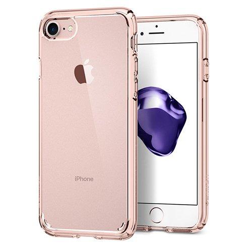 Spigen kryt Ultra Hybrid 2 pre iPhone 7/8/SE 2020 - Rose Crystal 042CS20924