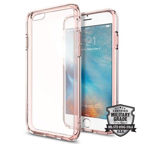Púzdro Spigen Ultra Hybrid iPhone 6/6S - Rose Crystal