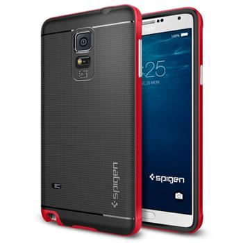 Spigen Neo Hybrid pre Samsung Galaxy Note 4 - N910F, Electric Red
