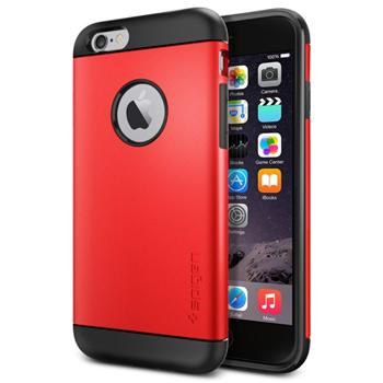Spigen Slim Armor pre Apple iPhone 6, Electric Red