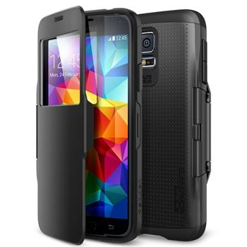 Spigen Slim Armor View pre Samsung Galaxy S5 - G900, Smooth bBack
