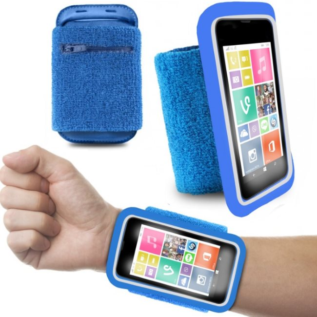 �portov� puzdro PURO na z�p�stie pre Apple iPhone 4, Apple iPhone 4S, Blue