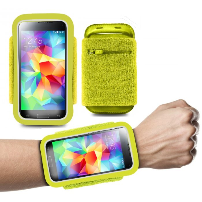 �portov� puzdro PURO na z�p�stie pre Apple iPhone 4, Apple iPhone 4S, Lime