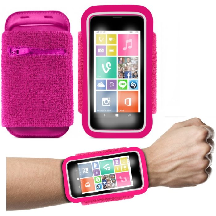 �portov� puzdro PURO na z�p�stie pre Apple iPhone 4, Apple iPhone 4S, Pink