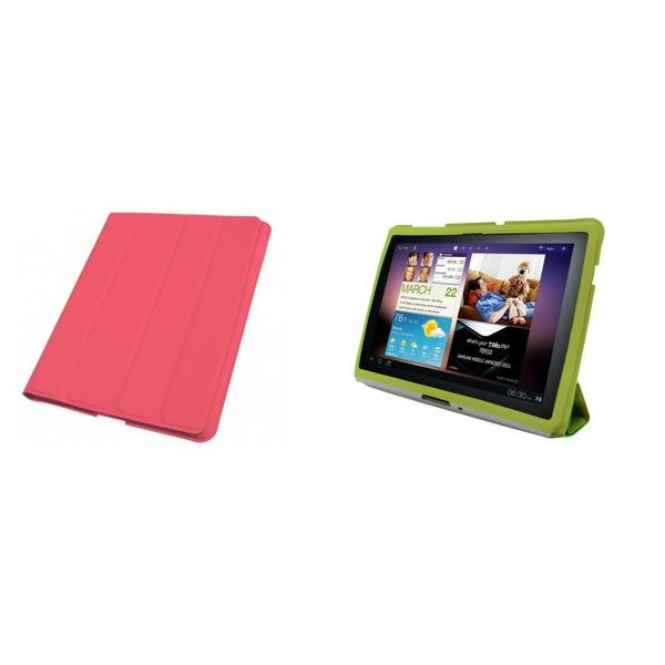 STAND FOLDER CASE FOR SAMSUNG GALAXY TAB 8.9 PINK