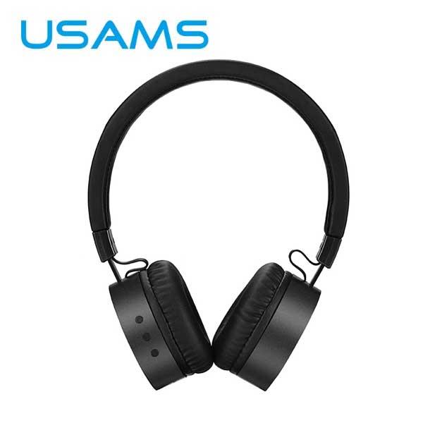Stereo Bluetooth Headset USAMS LH, Black 6958444936741
