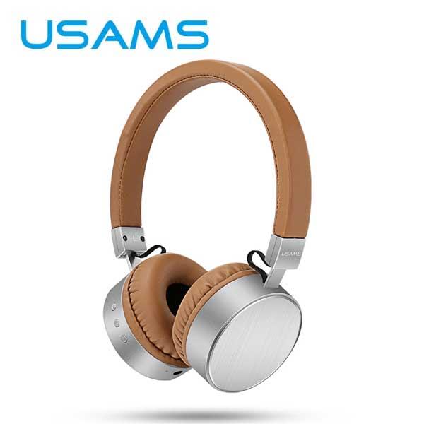 Stereo Bluetooth Headset USAMS LH, Brown 6958444936758