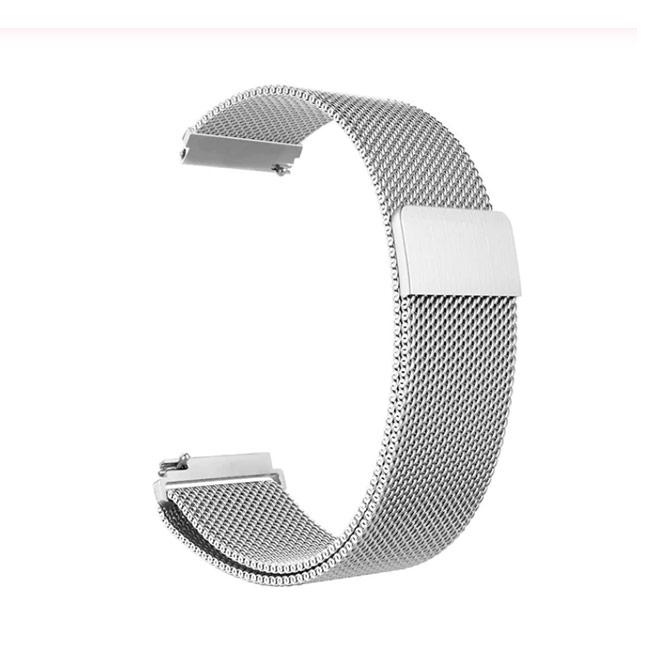 Strieborný kovový náramok pre Samsung Galaxy Watch - SM-R810, 42mm