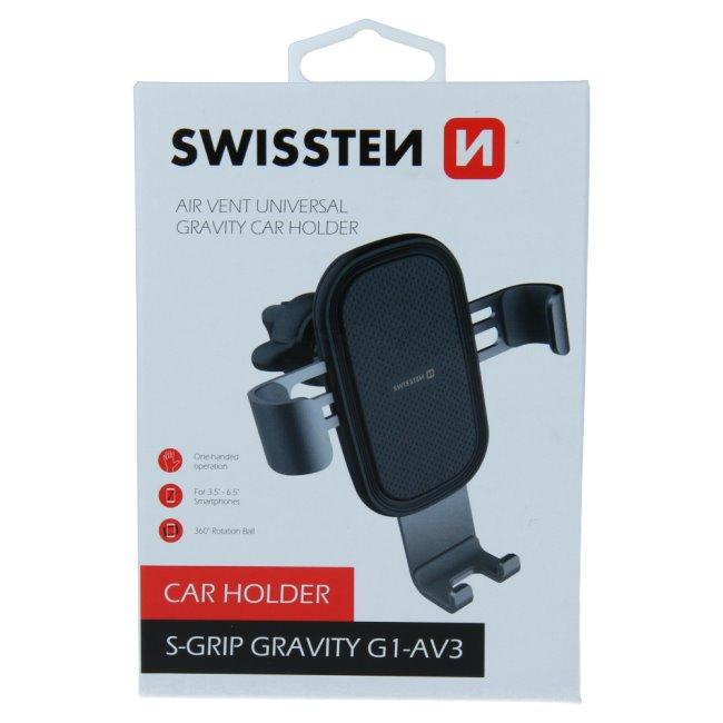 Swissten univerzálny držiak S-Grip G1-AV3 do ventilácie auta 65010602