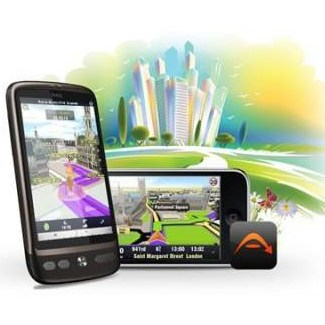 Sygic GPS Navigation 2014 - naviga�n� software pre Android - 45 kraj�n Eur�py +  Address point