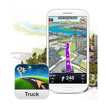Sygic Truck Navigation 2014 - naviga�n� software pre Android - Mapy celej Eur�py