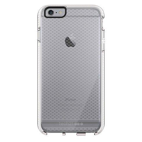 Tech21 Evo Check Case iPhone 6/6s Plus, clear/white T21-5317