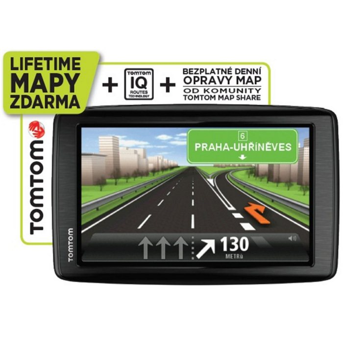 TomTom Start 25 Europe + Mapy 44 kraj�n Europy + Do�ivotn� aktualiz�cia m�p