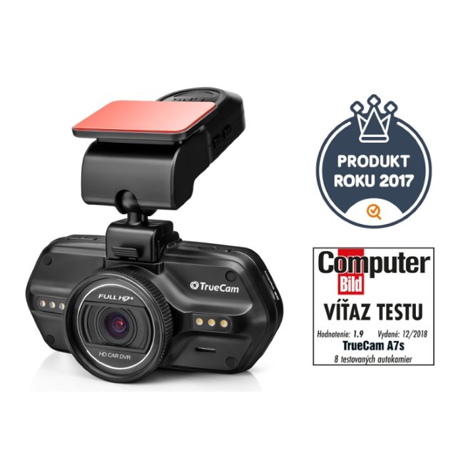 TrueCam A7s - profesionálna HD autokamera