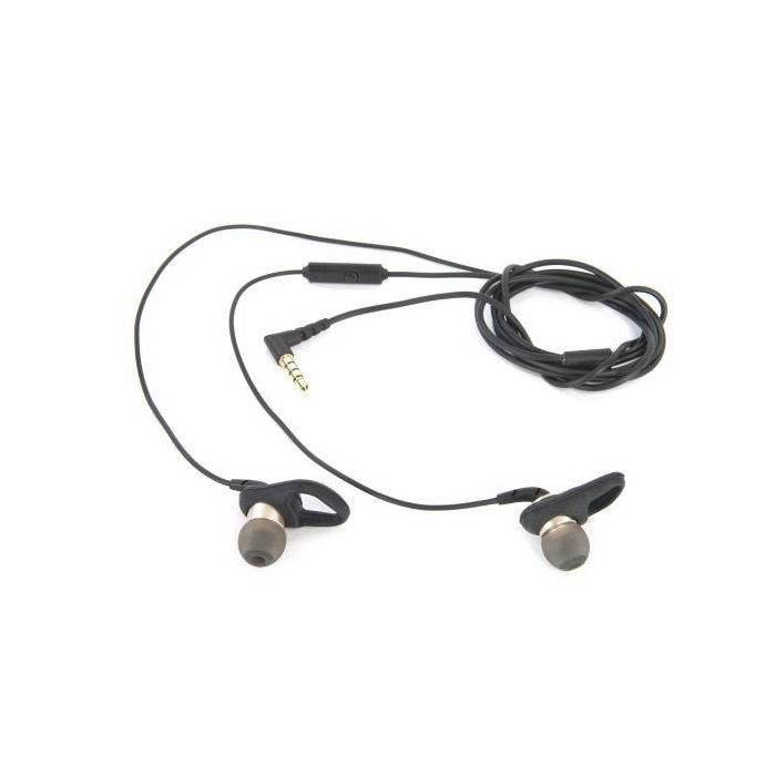 Tucano Soft Run - k�blov� Stereo Headset, Black