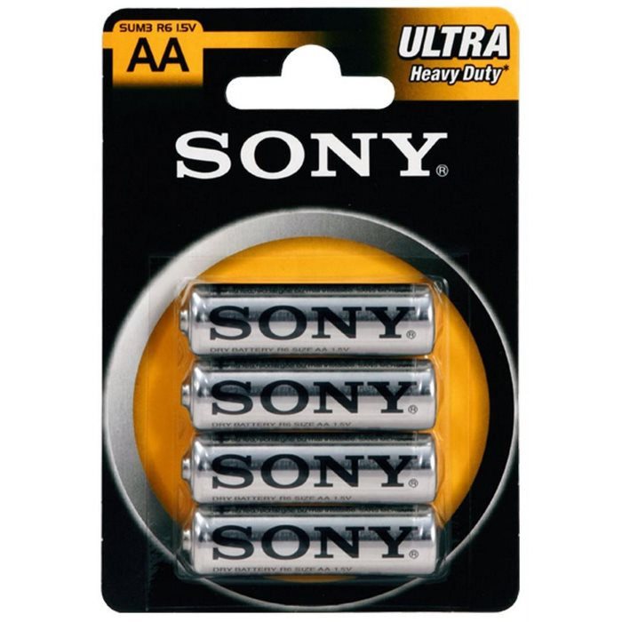 Tužková batéria AA(R6), SONY SUM3NUB4A, 4 kusy