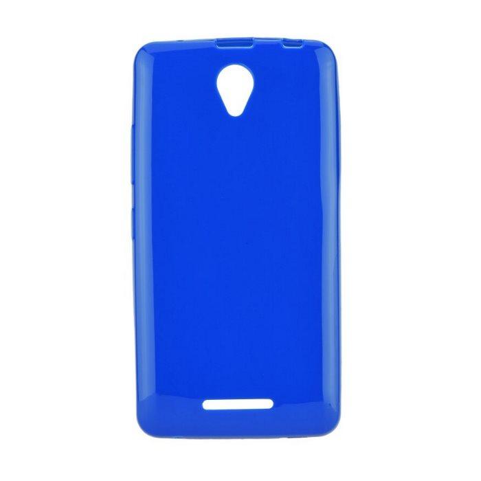 Ultra tenké puzdro Jelly Bright 0.3mm pre Lenovo A5000, Blue