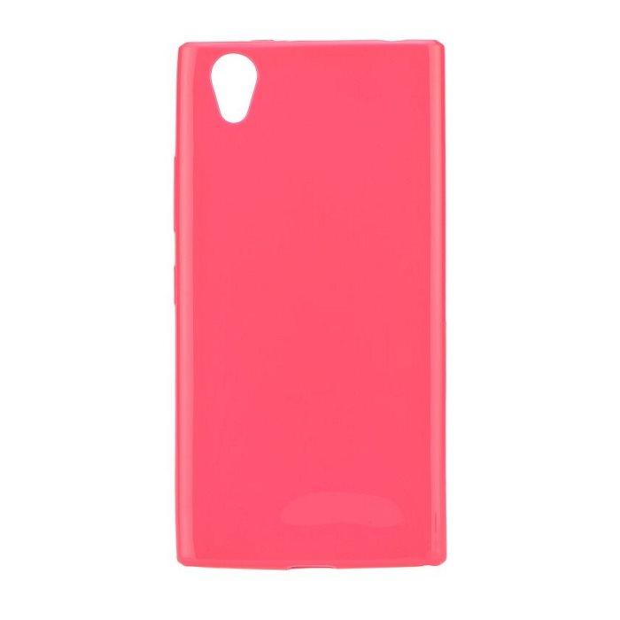 Ultra tenké puzdro Jelly Bright 0.3mm pre Lenovo P70, Pink
