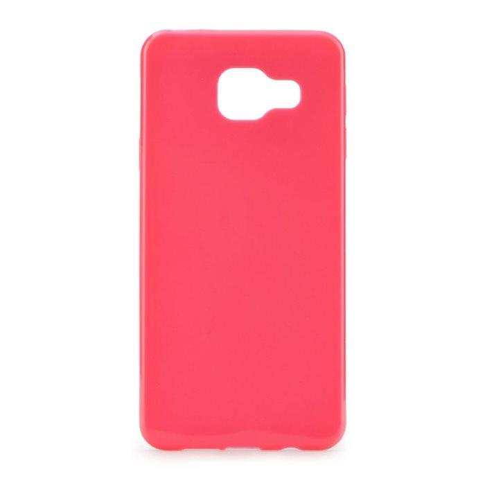Ultra tenké puzdro Jelly Bright 0.3mm pre Samsung Galaxy A3 2016 - A310F, Pink