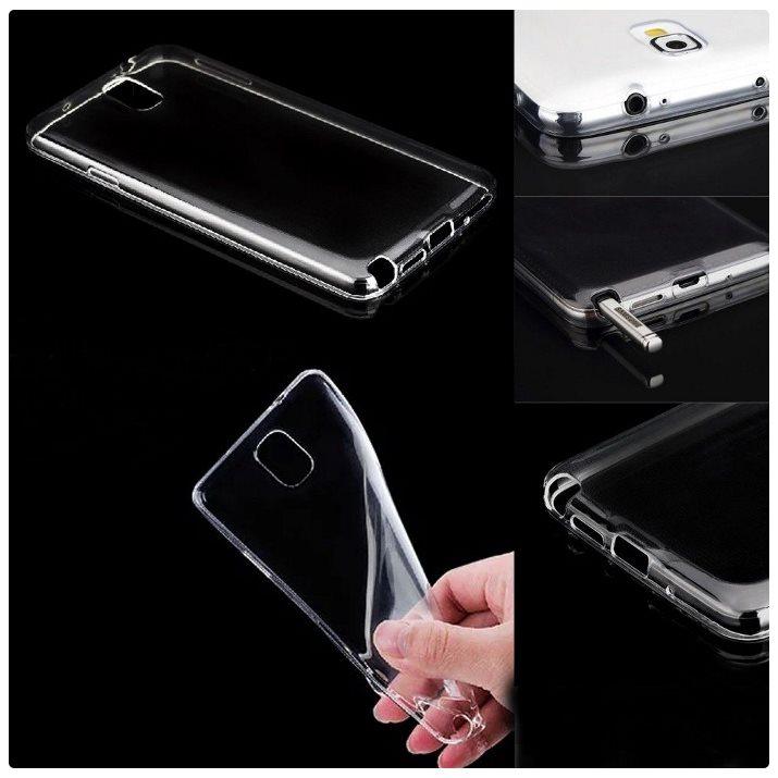 Ultra tenké puzdro pre Asus Zenfone 3 Deluxe - ZS570KL, Transparent 5901737392831