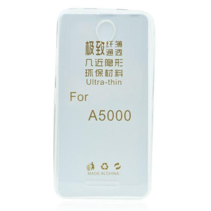 Ultra tenké puzdro pre Lenovo A5000, Transparent