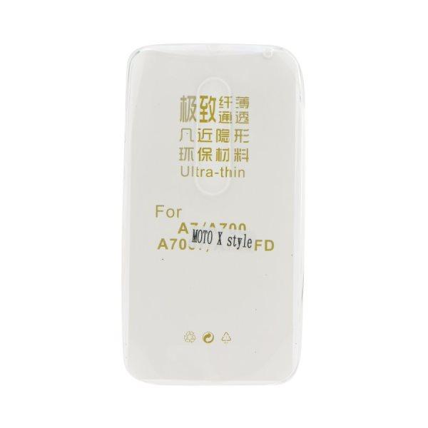 Ultra tenké puzdro pre Lenovo (Motorola) Moto X Style - XT1572, Transparent 5901737332080