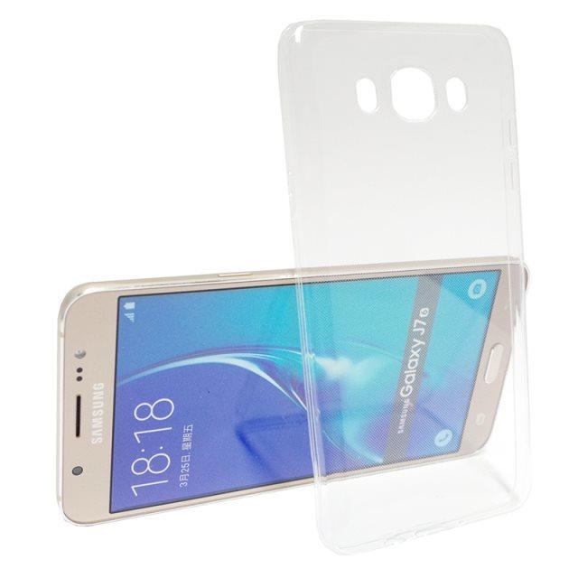 Ultra tenké puzdro pre Samsung Galaxy J7 (2016) - J710F, Transparent
