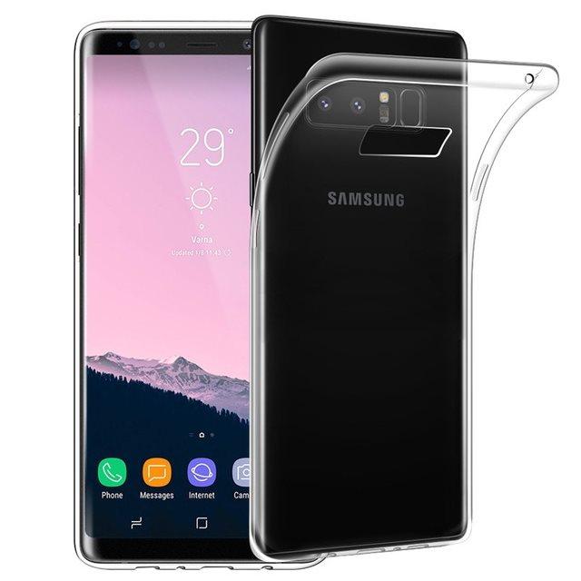Ultra tenké puzdro pre Samsung Galaxy Note 8 - N950F, Transparent