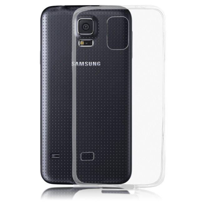 Ultra tenké puzdro pre Samsung Galaxy S5 mini - G800, Transparent