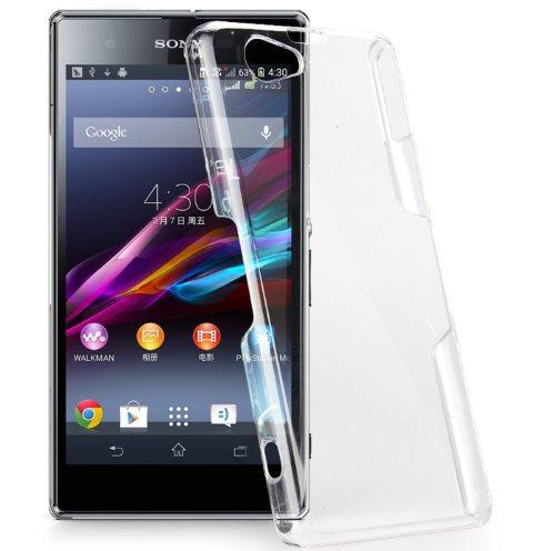 Ultra tenké puzdro pre Sony Xperia E4 - E2105 a E4 Dual - E2115, Transparent