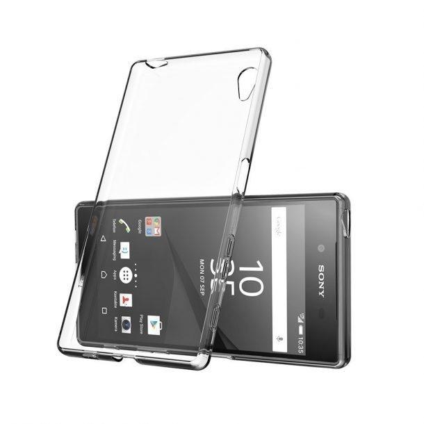 Ultra tenké puzdro pre Sony Xperia E5 - F3311, Transparent 5901737364937