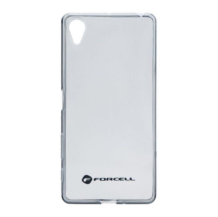 Ultra tenké puzdro pre Sony Xperia X - F5121, Black/Transparent