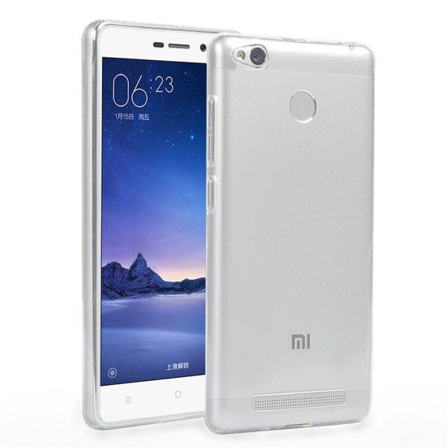 Ultra tenké puzdro pre Xiaomi Redmi 3S, Xiaomi Redmi 3 Pro, Transparent