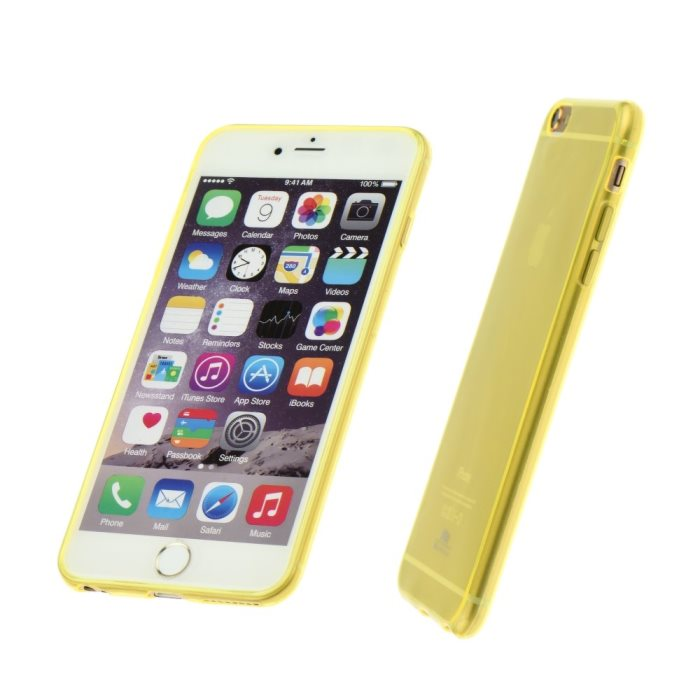 Ultra tenk� silik�nove puzdro Roar pre Apple iPhone 6 a 6S, Yellow