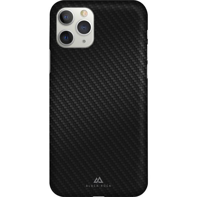 Ultratenké púzdro Black Rock Iced pre Apple iPhone 11 Pro, Flex Carbon Black