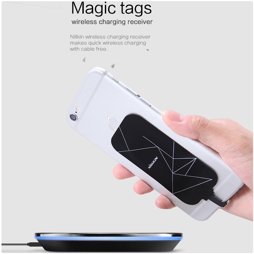 Ultratenký nabíjací modul Nillkin Magic Tag pre Váš smartfón s USB-C  konektorom 7660027563c