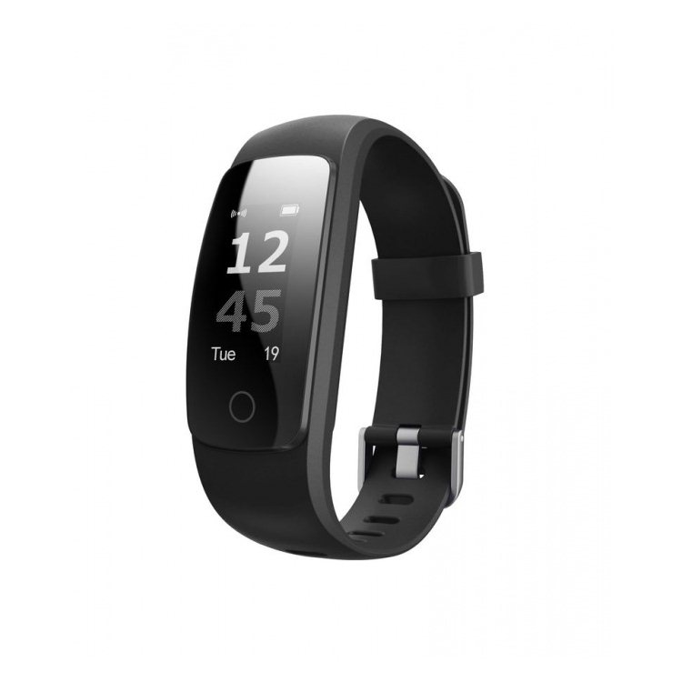 UMAX U-Band 107 Plus HR, fitness náramok, Black