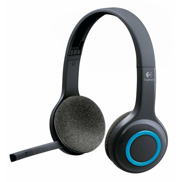 Univerzálne bezdrôtové slúchadlá Logitech Wireless Headset H600