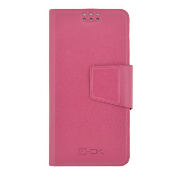 Univerzálne puzdro 4-OK,Veľkosť TZ1 pre Váš smartfón,ružové
