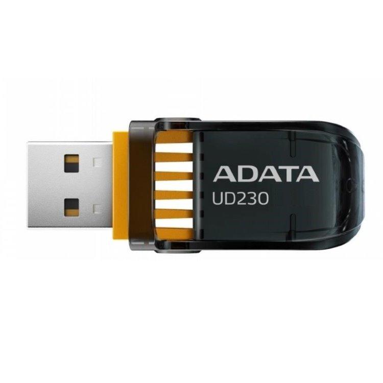 USB kľúč A-DATA UD230, 32GB, USB 2.0, Black (AUD230-32G-RBK)