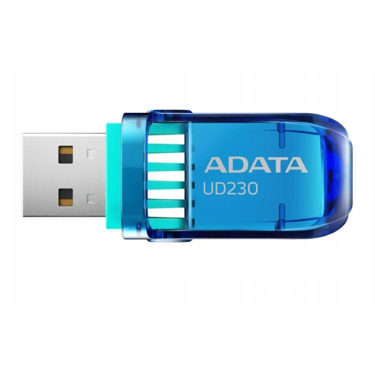 USB kľúč A-DATA UD230, 64GB, USB 2.0, Blue (AUD230-64G-RBL)