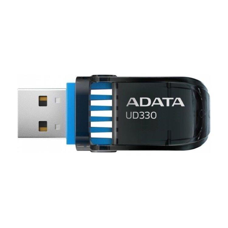 USB kľúč A-DATA UD330, 16GB, USB 3.1, Black (AUD330-16G-RBK)