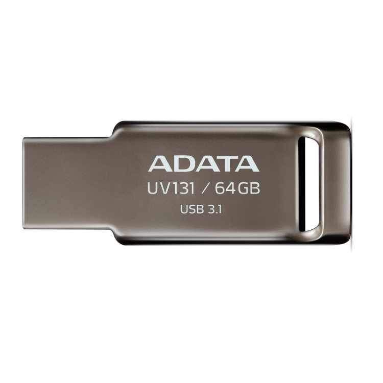 USB kľúč A-Data UV131, 64GB, USB 3.1 (AUV131-64G-RGY)