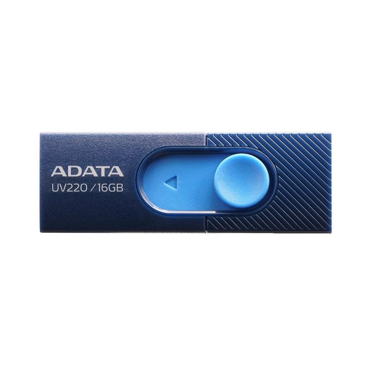 USB kľúč A-DATA UV220, 16GB, USB 2.0, Blue (AUV220-16G-RBLNV)